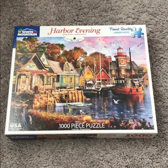 Harbor Evening 1000 pc puzzle by White Mountain